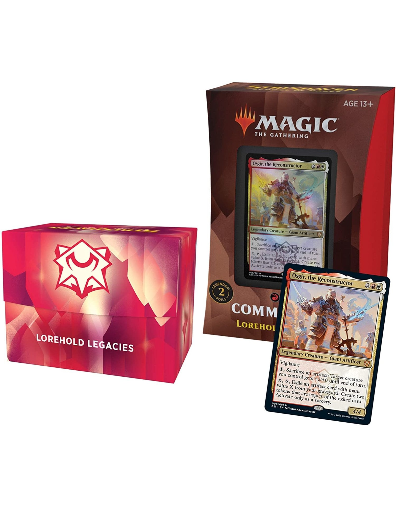 Wizards of the Coast Strixhaven Commander Deck Lorehold Legacies