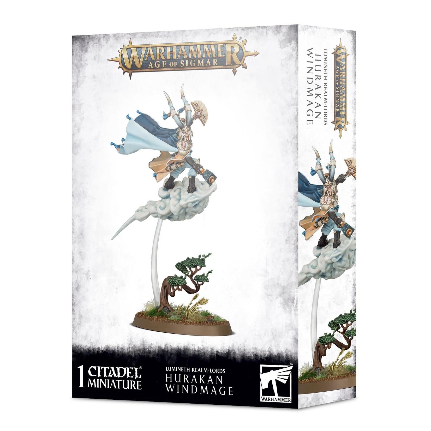 Lumineth Realm Lords Hurakan Windmage (AOS)