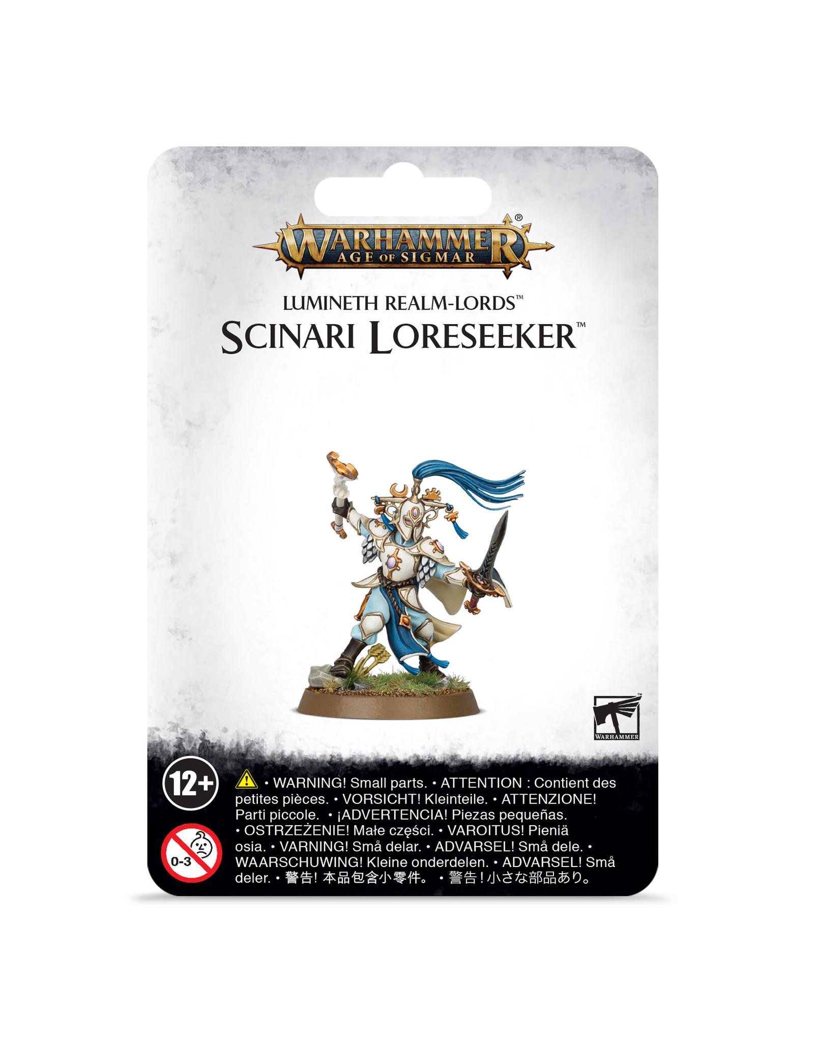 Lumineth Realm Scinari Loreseeker (AOS)