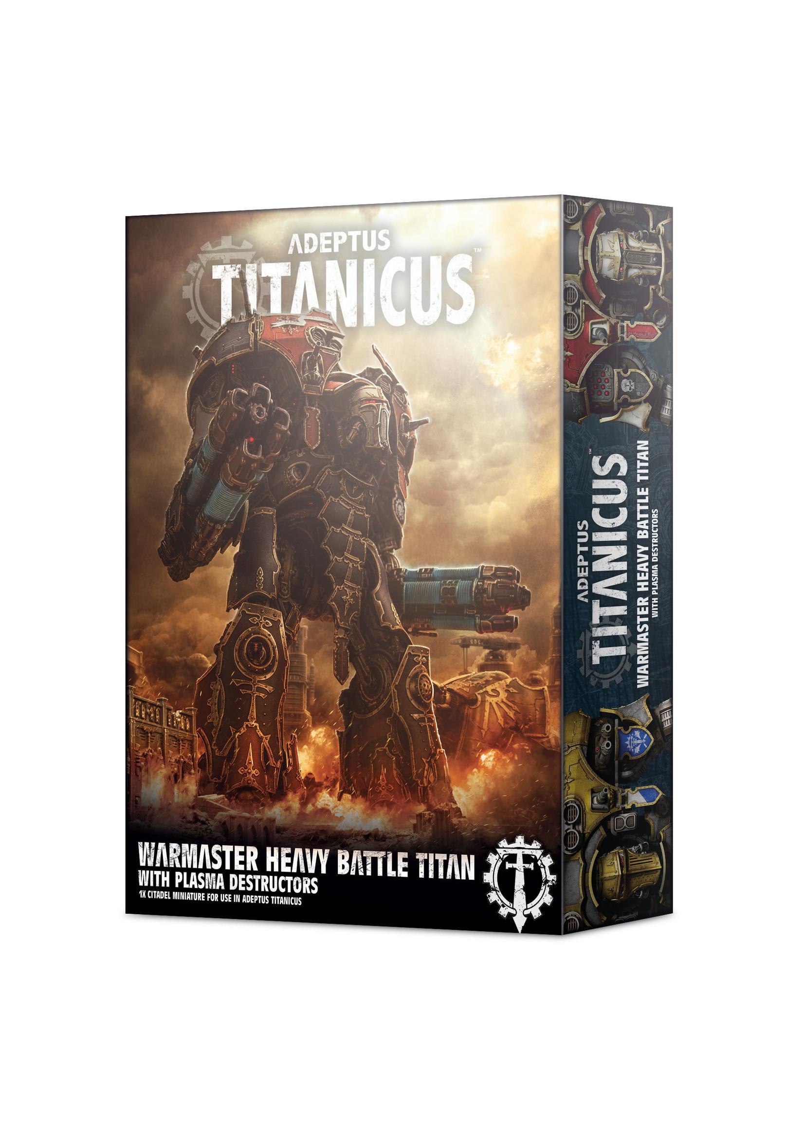 Adeptus Tanicus Warmaster Heavy Battle Titan