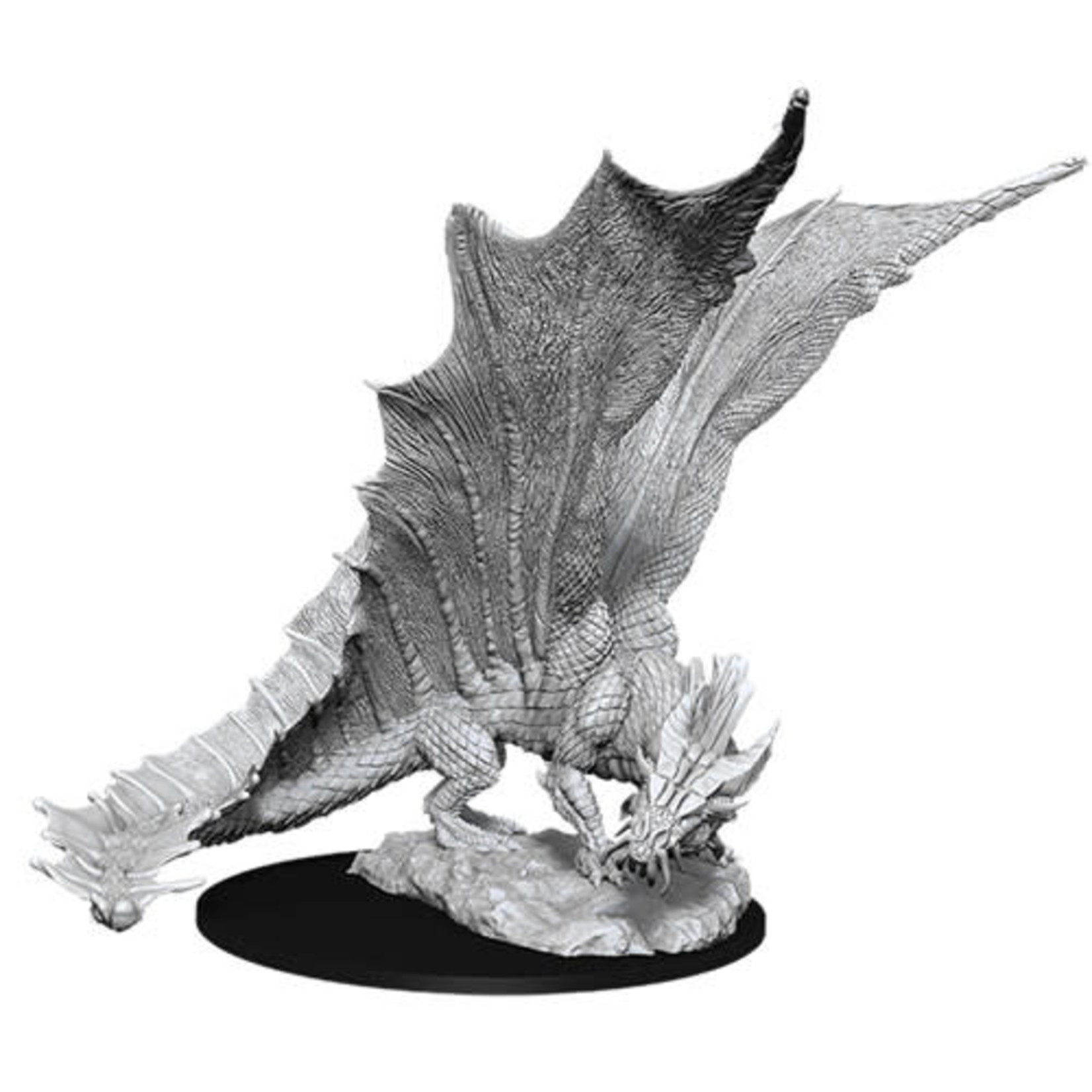 D&D Unpainted Minis: Young Gold Dragon