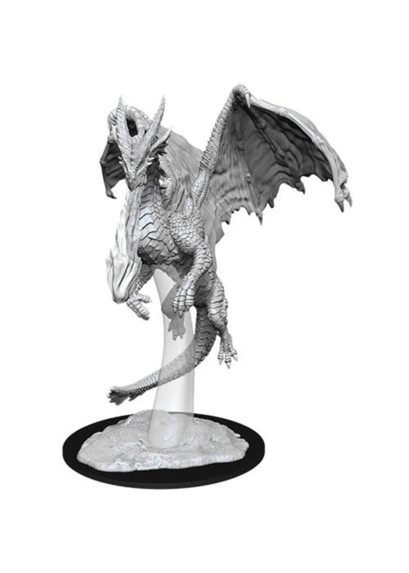 D&D Unpainted Minis: Young Red Dragon