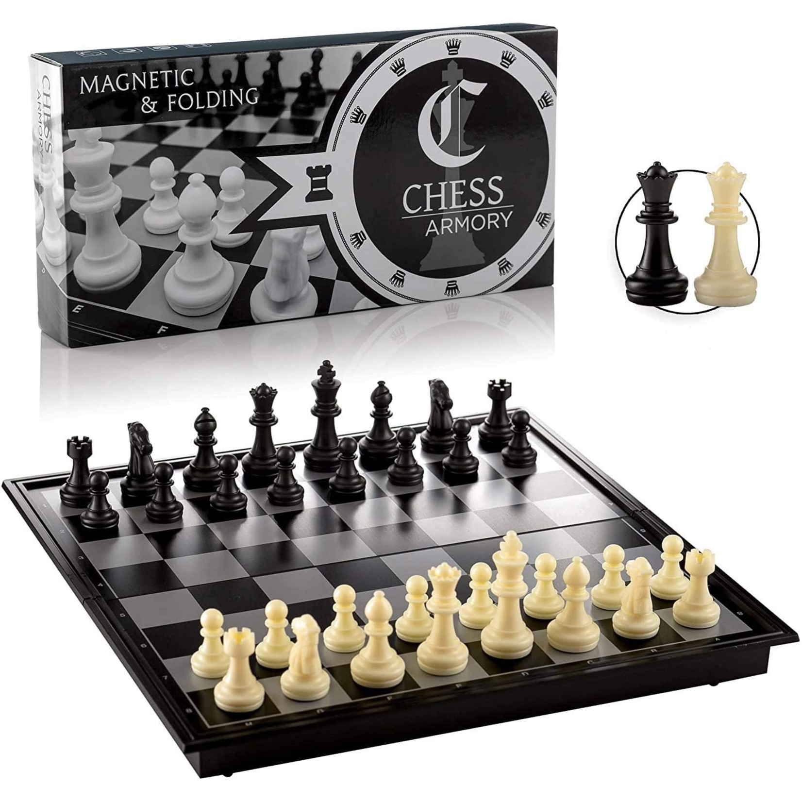 Chess Board 9.5' in Folding Magnetic