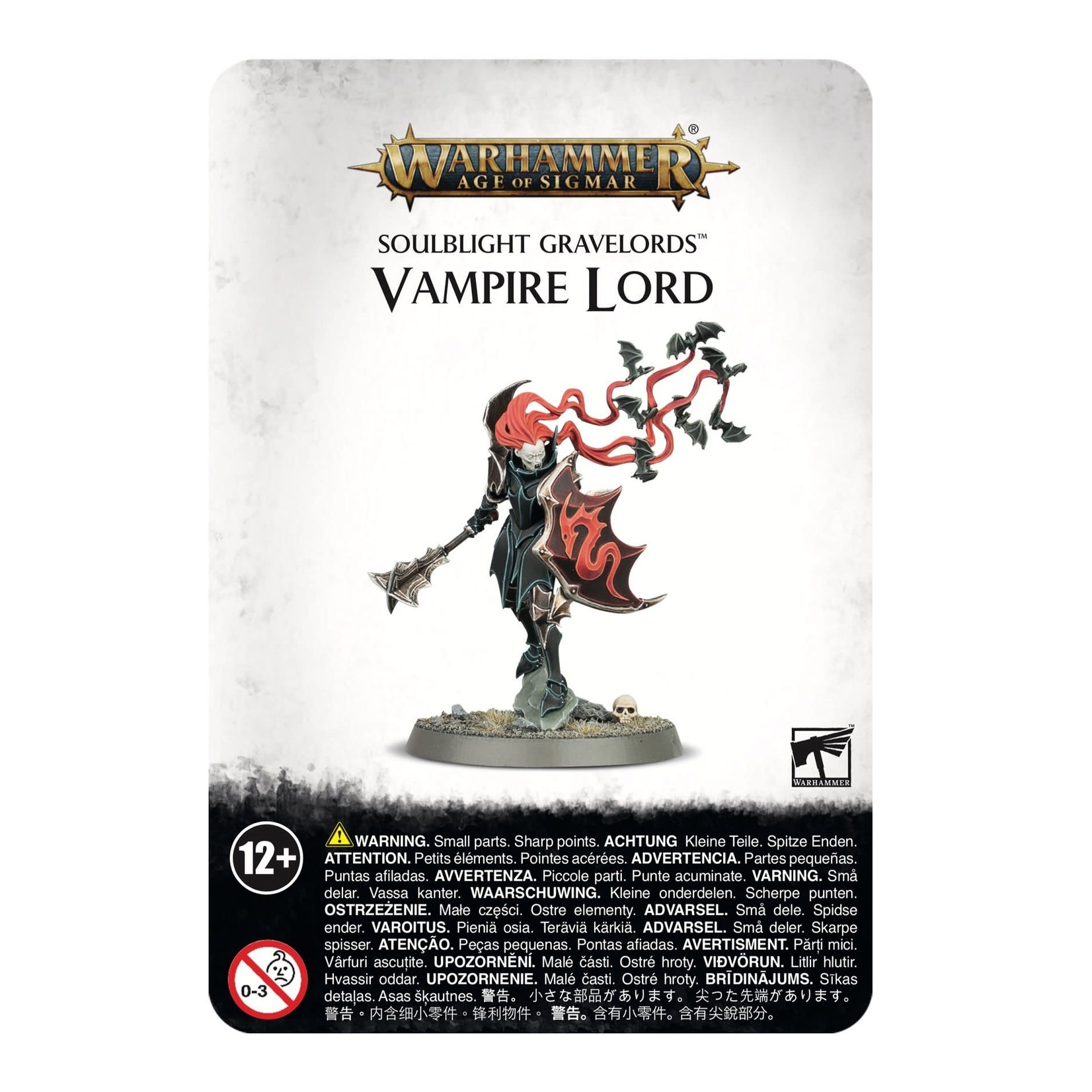 Games Workshop Soulblight Gravelords Vampire Lord (AOS)