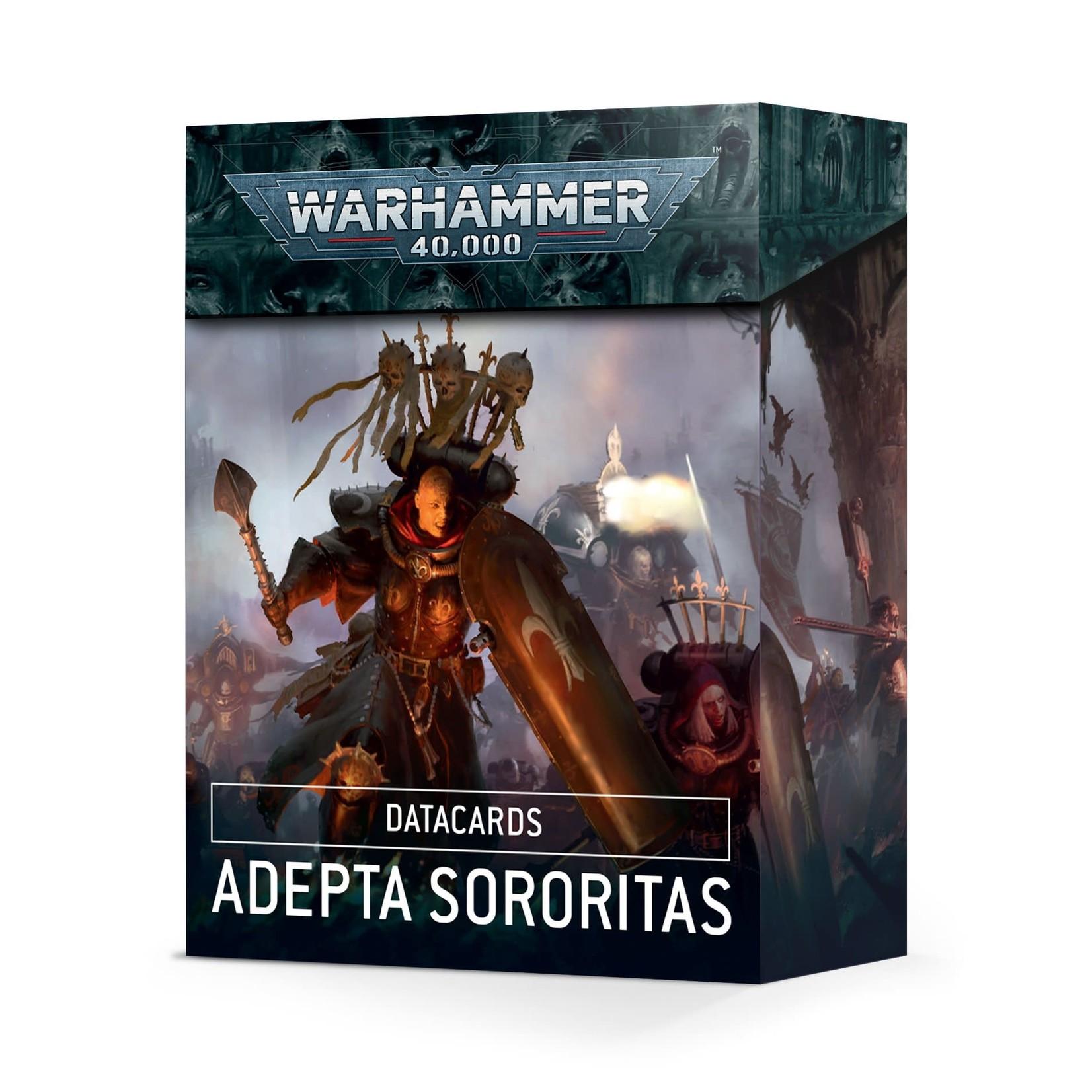 Adepta Sororitas Datacards 9th (40K)