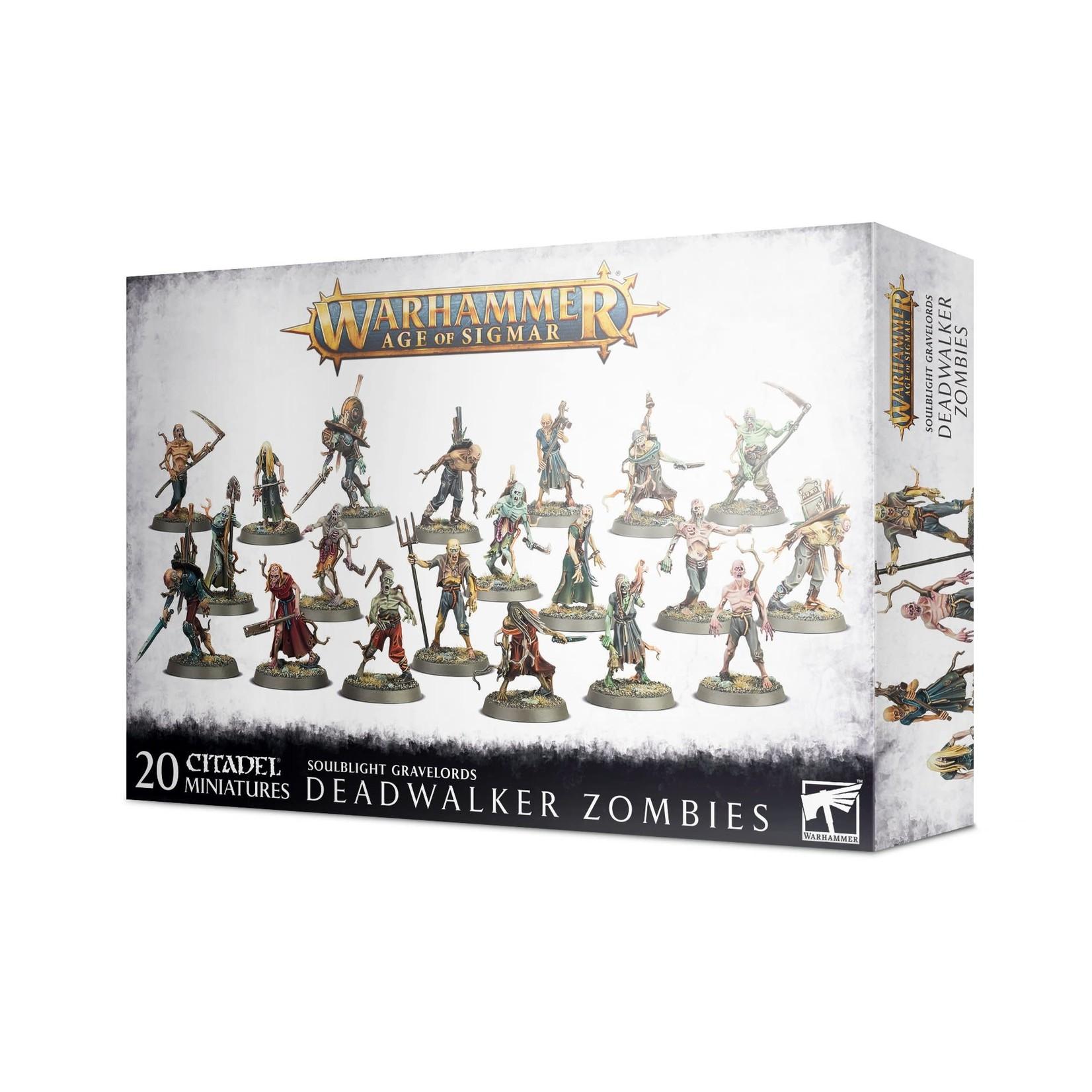 Games Workshop Soulblight Deadwalker Zombies (AOS)