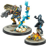 Asmodee Marvel Crisis Protocol - Cable and Domino Character Pack