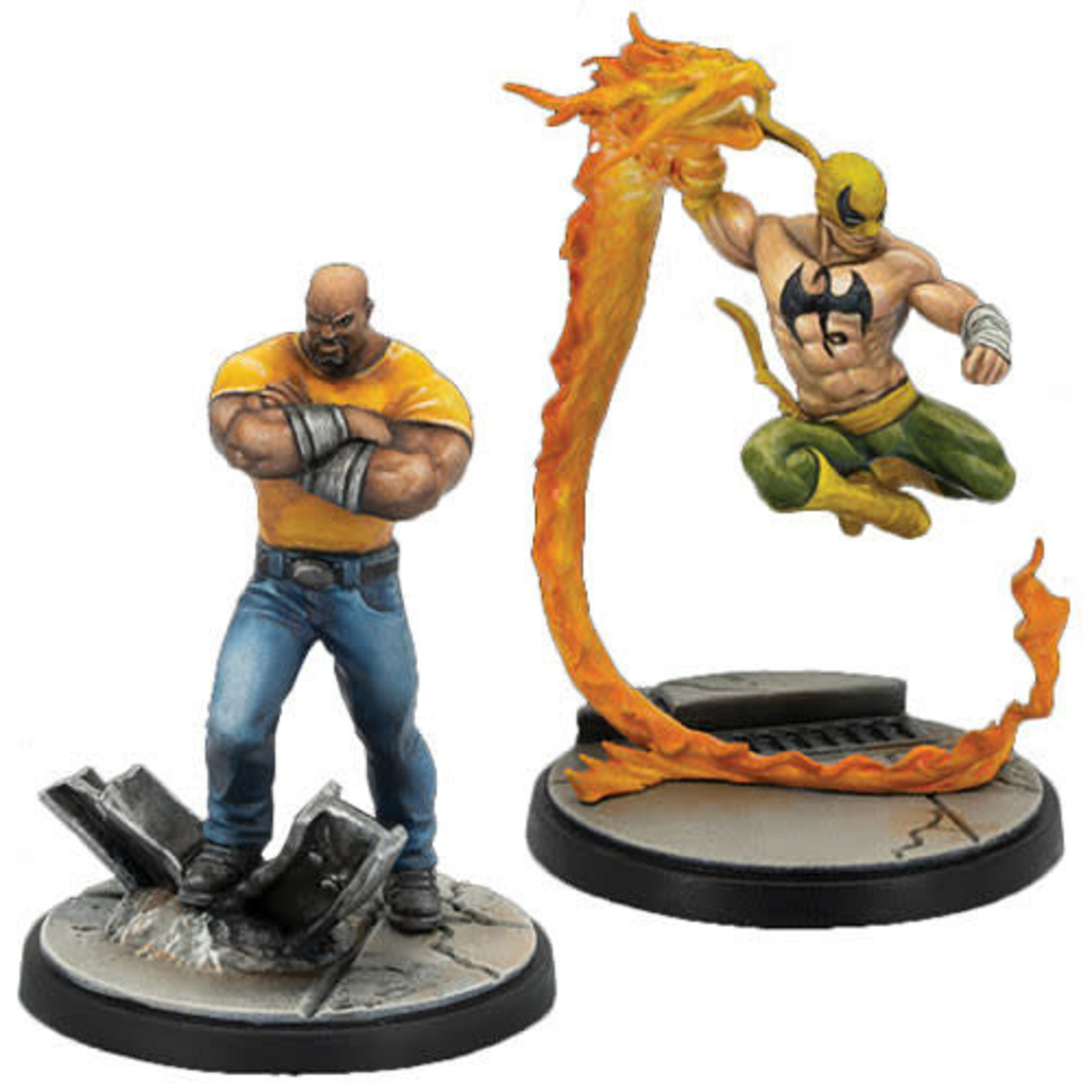 Asmodee Marvel Crisis Protocol - Luke Cage and Iron Fist Character Pack