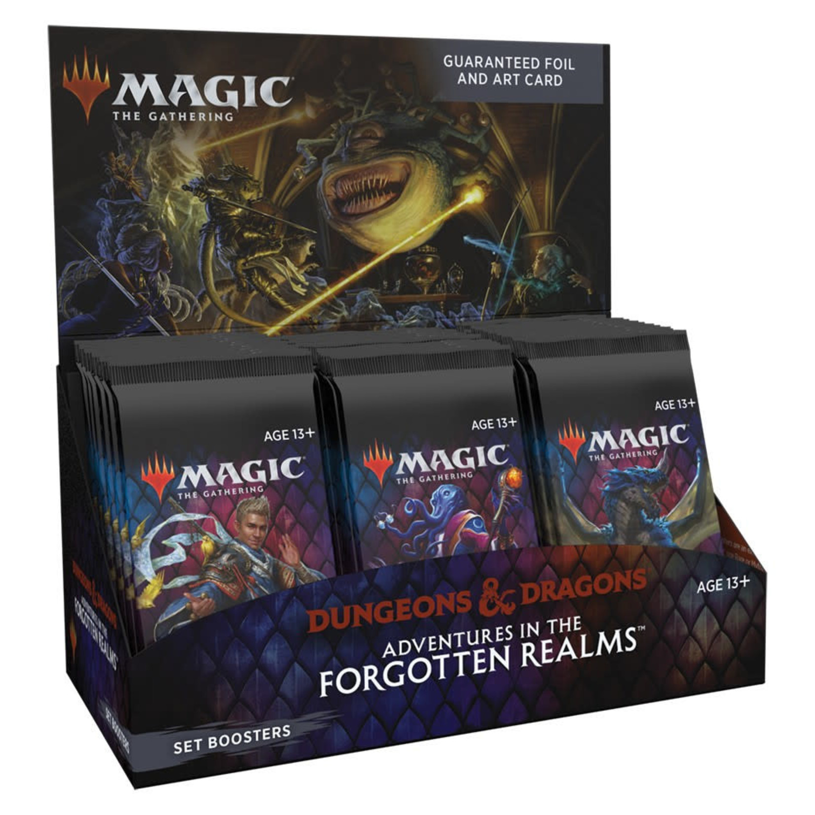 Wizards of the Coast D&D Adventures in the Forgotten Realms Set Booster Box