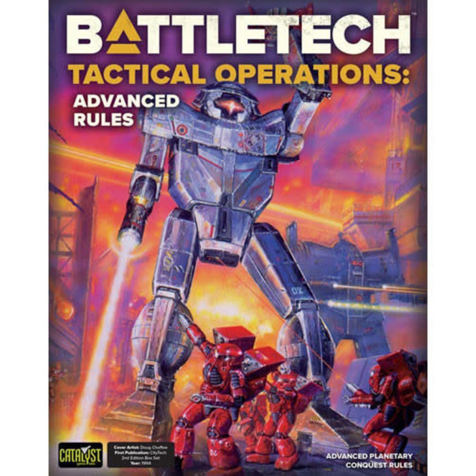 BattletechTactical Operations Advanced Rules