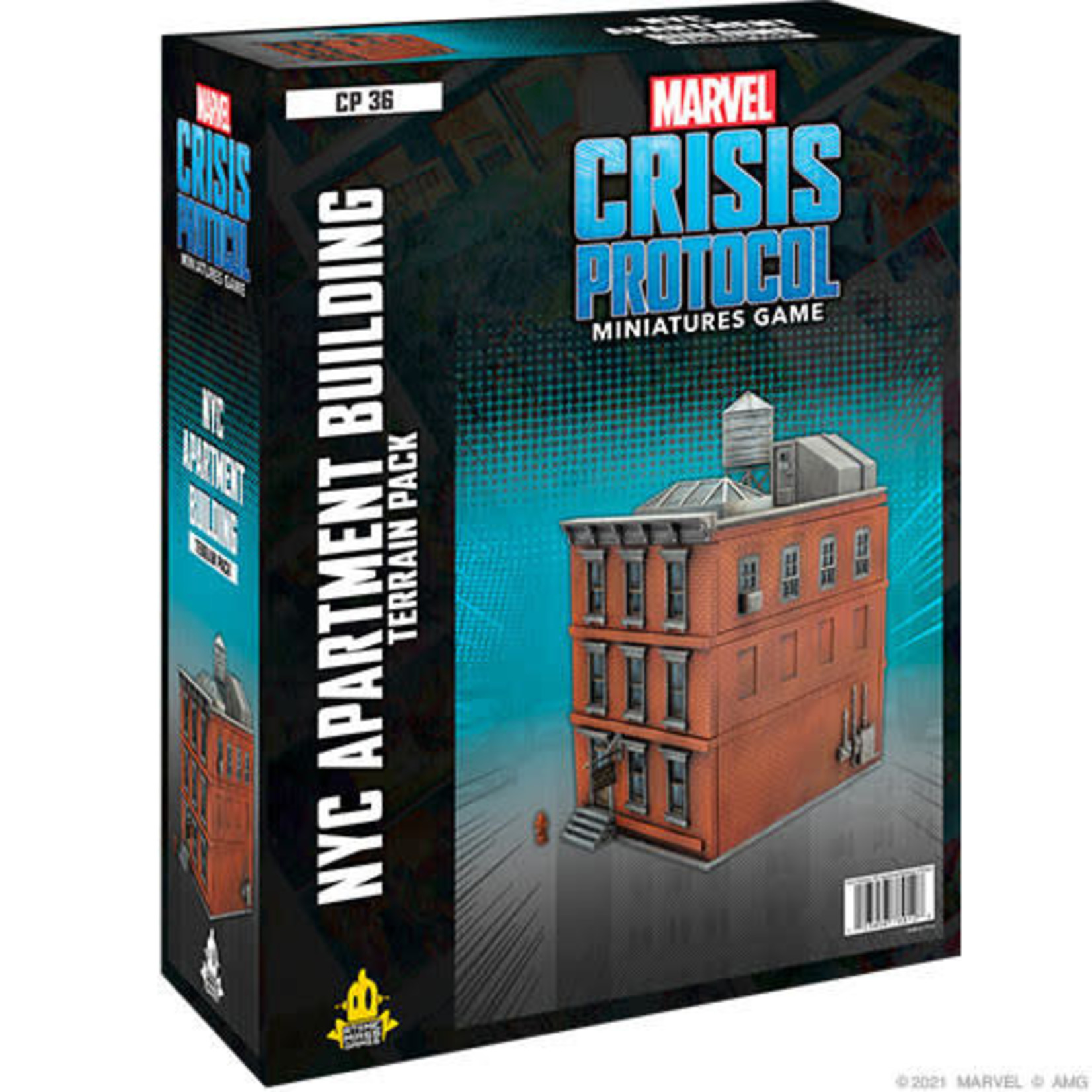 Marvel Crisis Protocol - NYC Apartment Building Terrain Pack