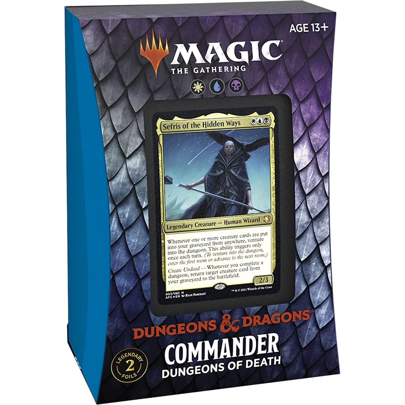 Wizards of the Coast D&D Adventures in the Forgotten Realms Commander Deck Dungeons of Death