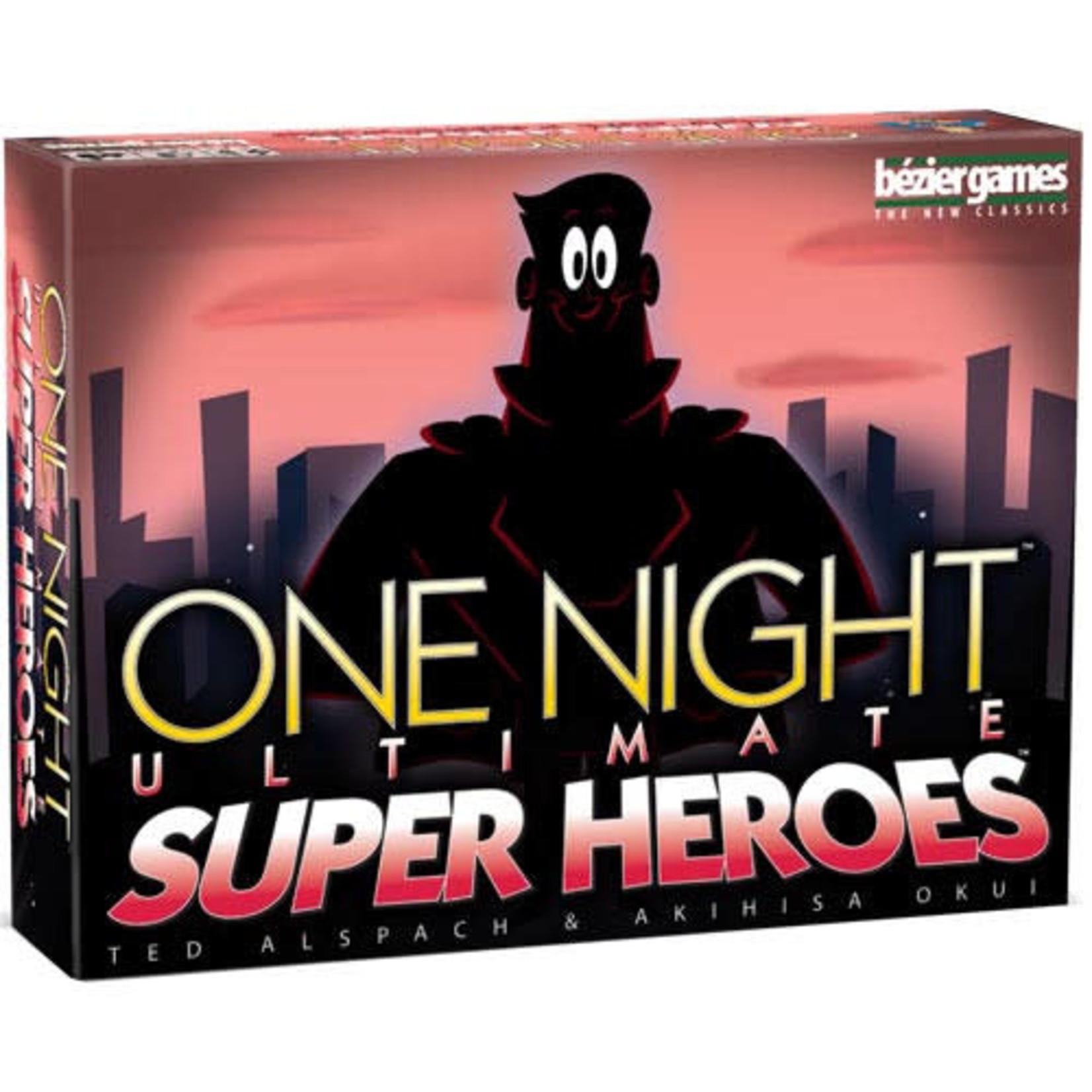 One Night: Ultimate Super Heroes  Board Game