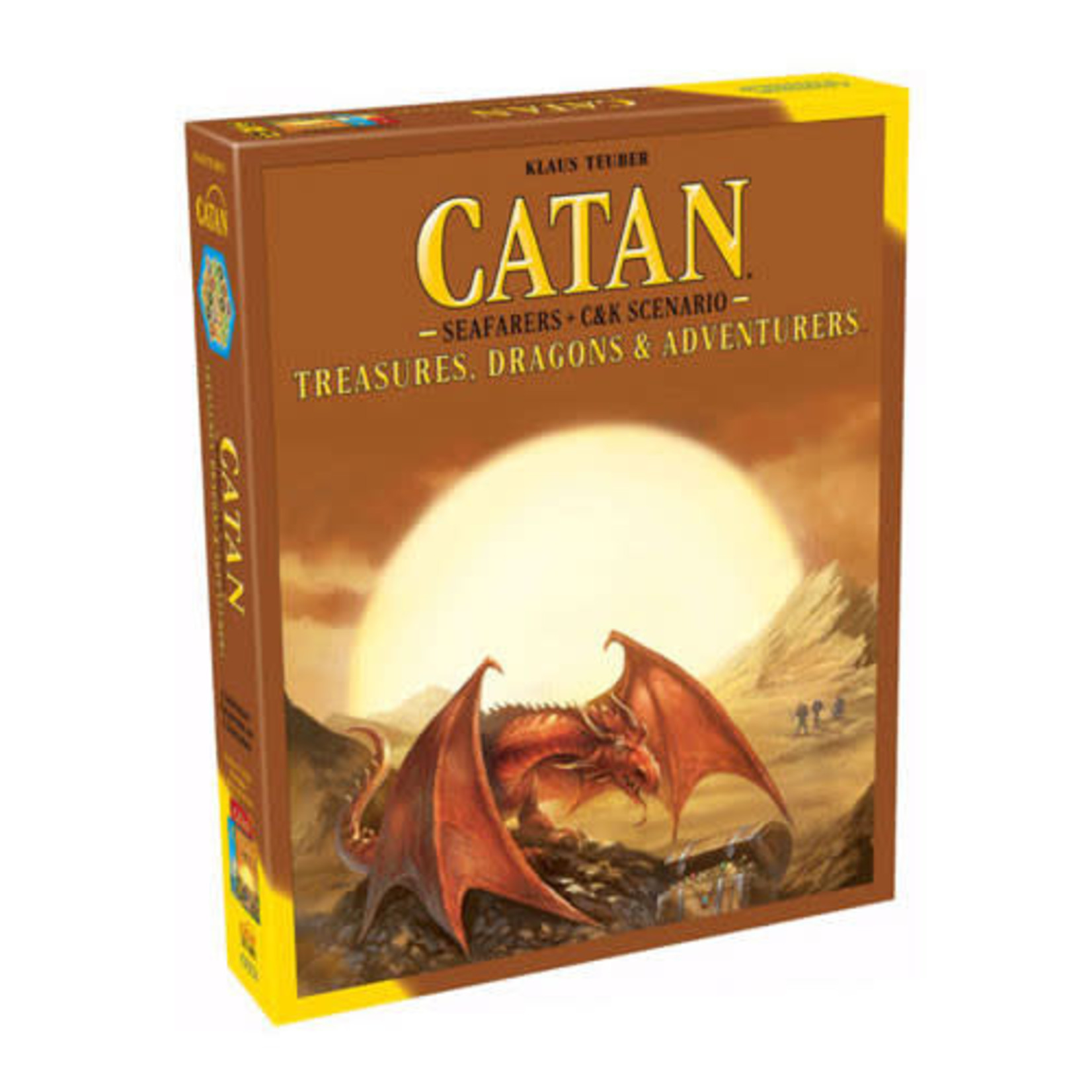 Catan Treasures Dragons and Adventurers Board Game