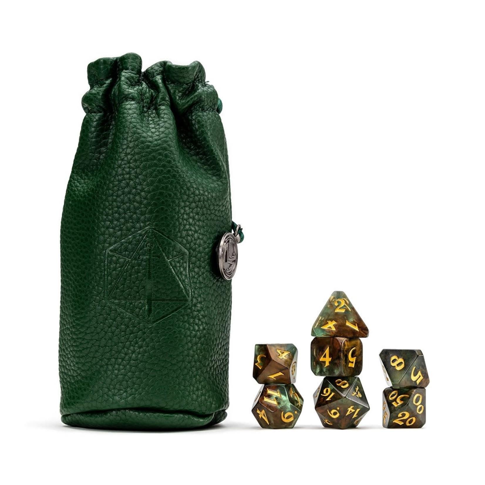 Darrington Press Vox Machina Dice Set: Keyleth (Green)