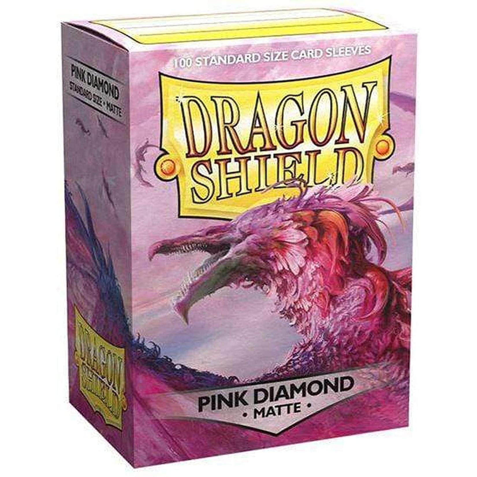 Dragon Shield Dragon Shield Matte Pink Diamond 100ct
