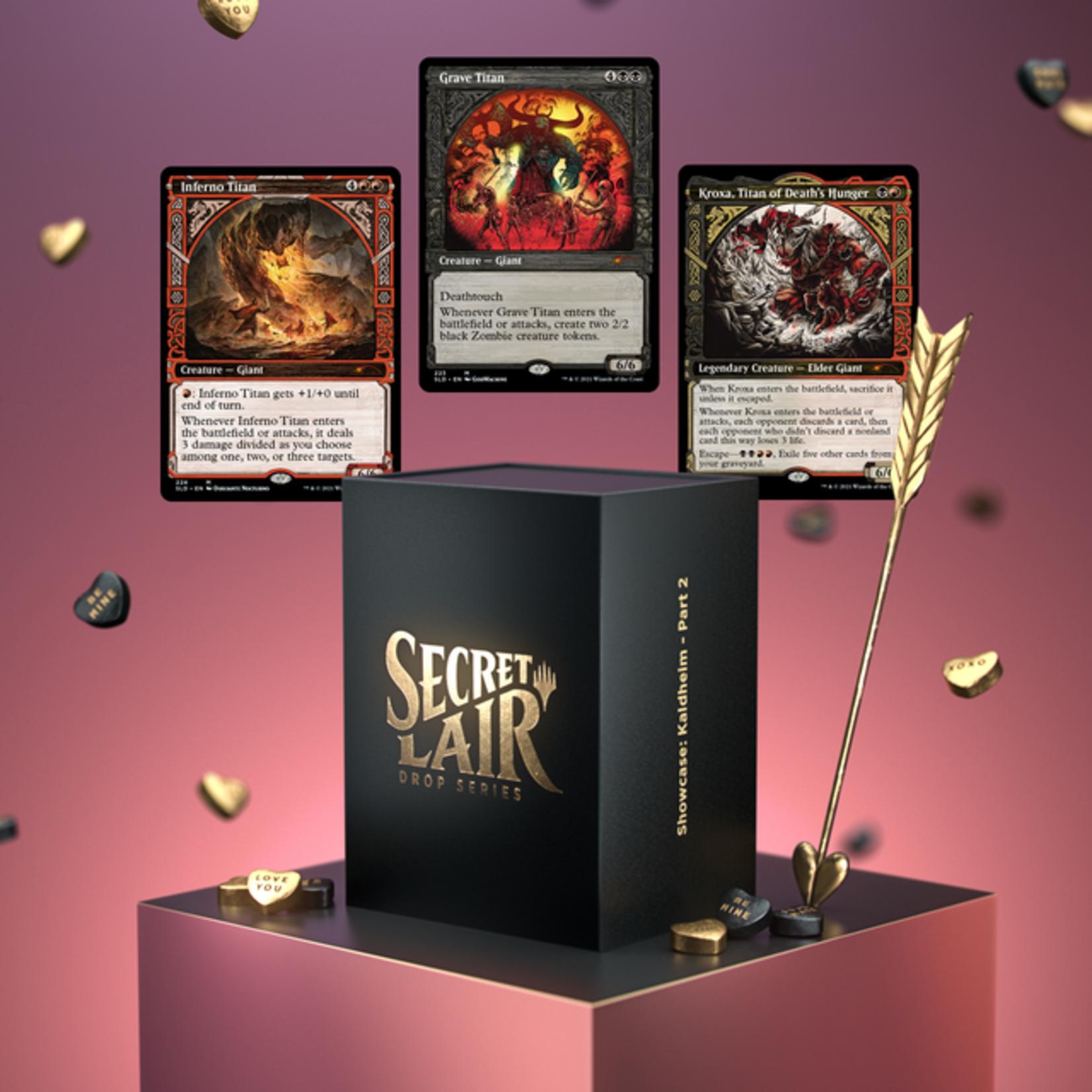 Wizards of the Coast Secret Lair Drop: Showcase: Kaldheim - Part 2 - Non-Foil