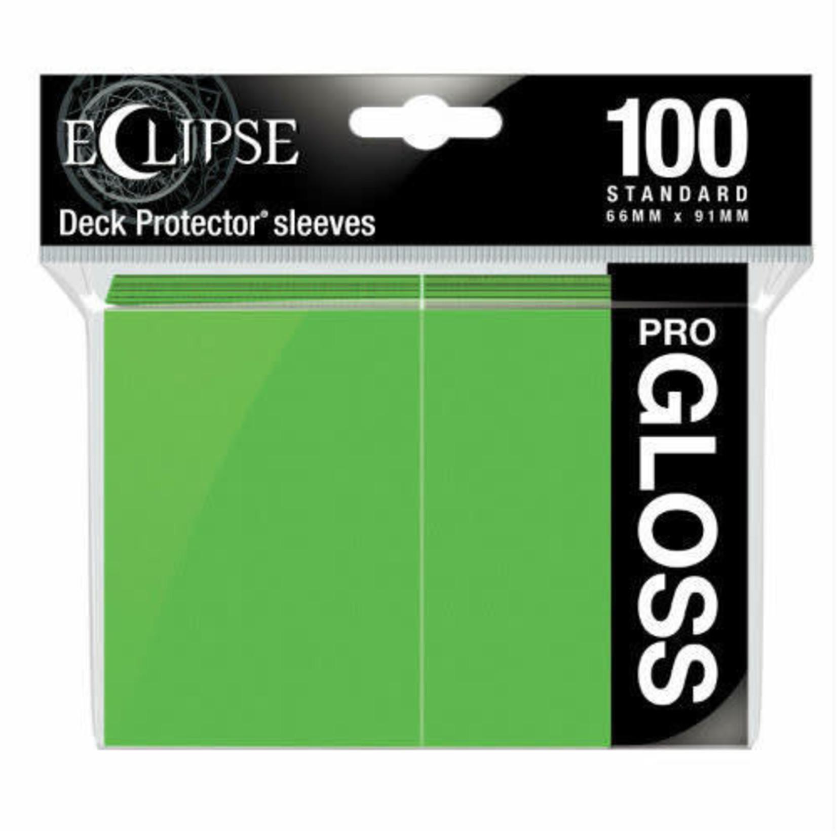 Ultra Pro Ultra Pro Eclipse Pro GLOSS Lime Green 100ct