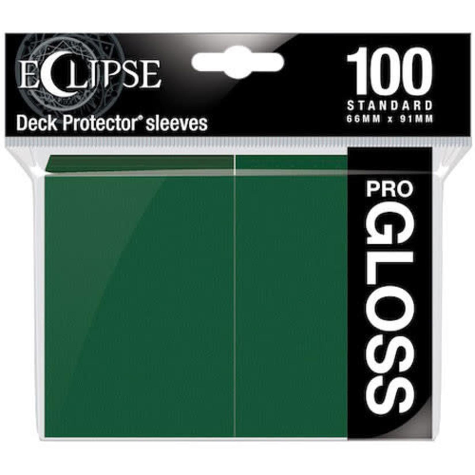 Ultra Pro Ultra Pro Eclipse Pro GLOSS  Forest Green 100ct