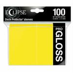 Ultra Pro Ultra Pro Eclipse Pro GLOSS Lemon Yellow 100ct