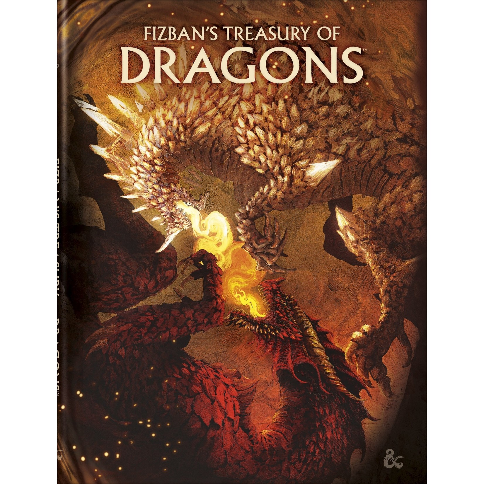 Wizards of the Coast D&D 5e Fizbans Treasury of Dragons - Alternate Cover