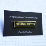 Cantrip Candles Pin Dungeon Master