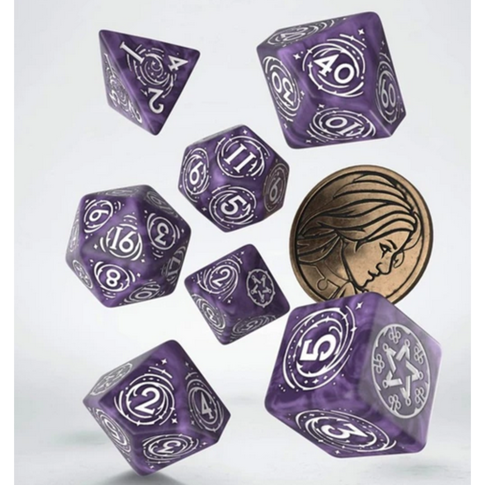 Witcher 7 Set Yennefer Lilac and Gooseberries