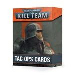 Kill Team Tac Ops Cards (40K)