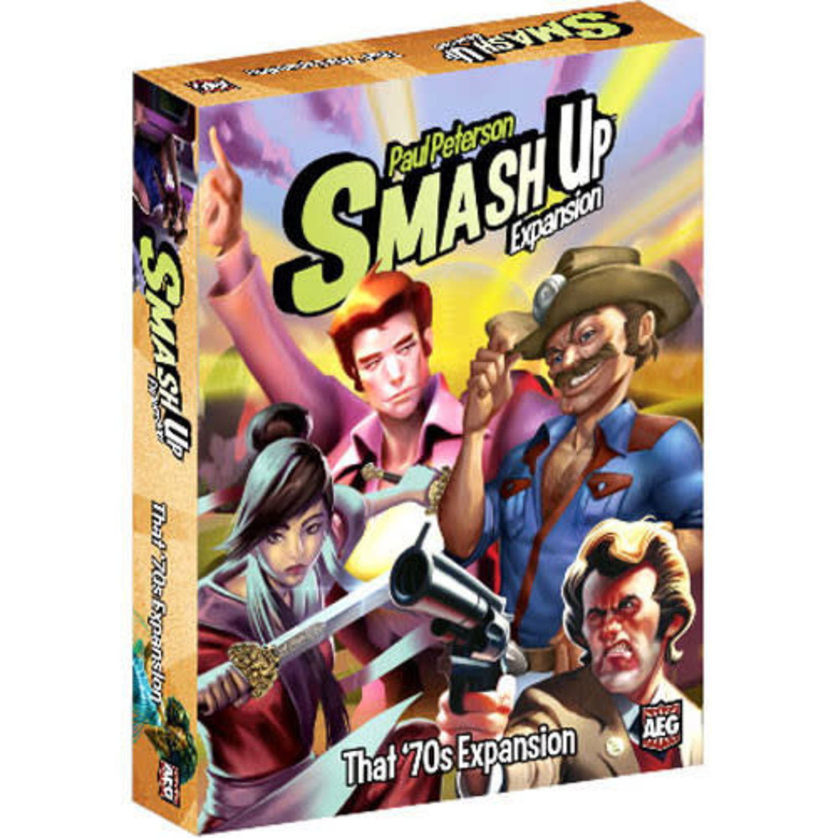 Smash Up That 70s Expansion Board Game