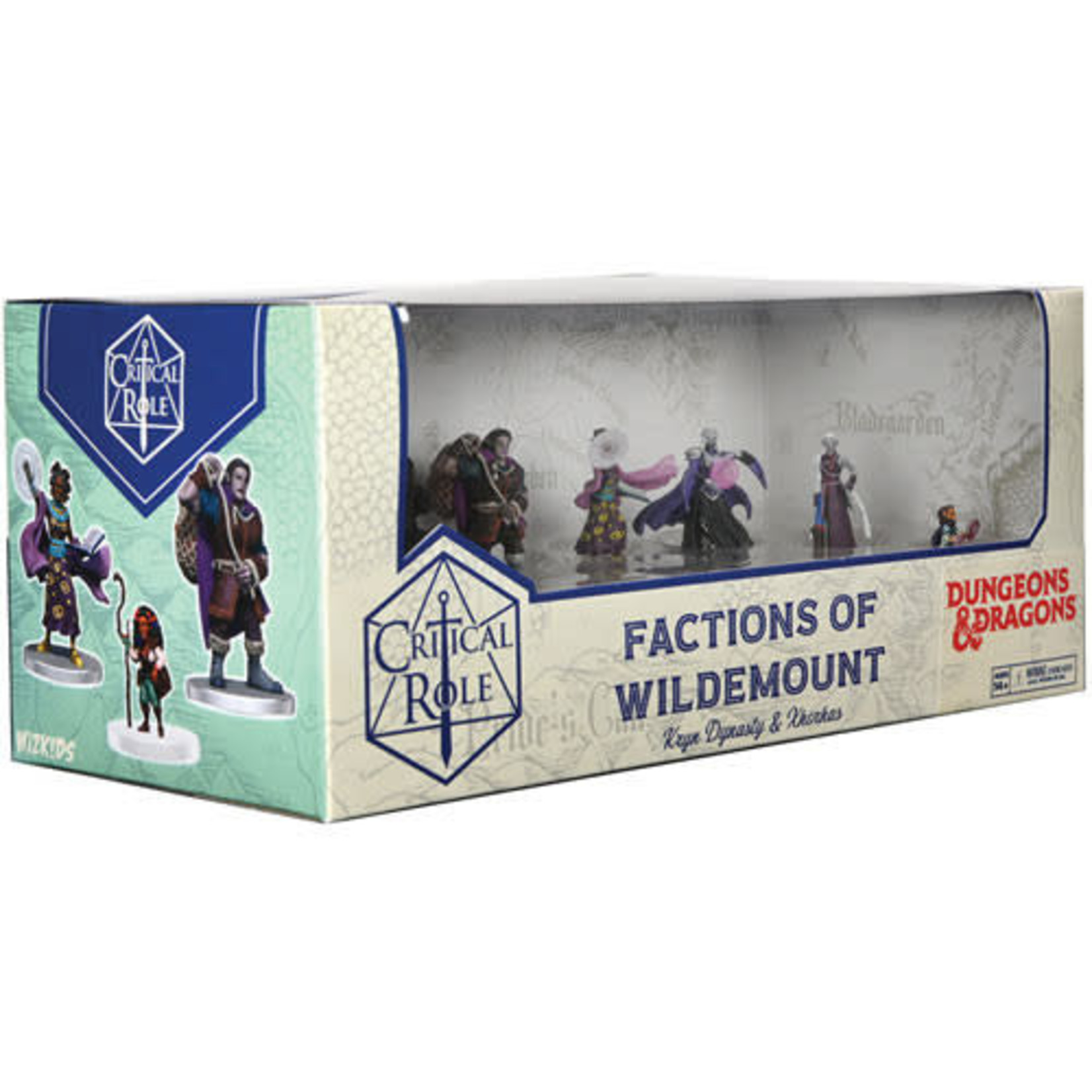 Critical Roll Minis Factions of the Wildemount Kryn Dynasty and Xhorhas Box Set