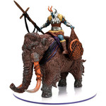 Wizards of the Coast D&D Icons of the Realms Snowbound Frost Fiant and Mammoth