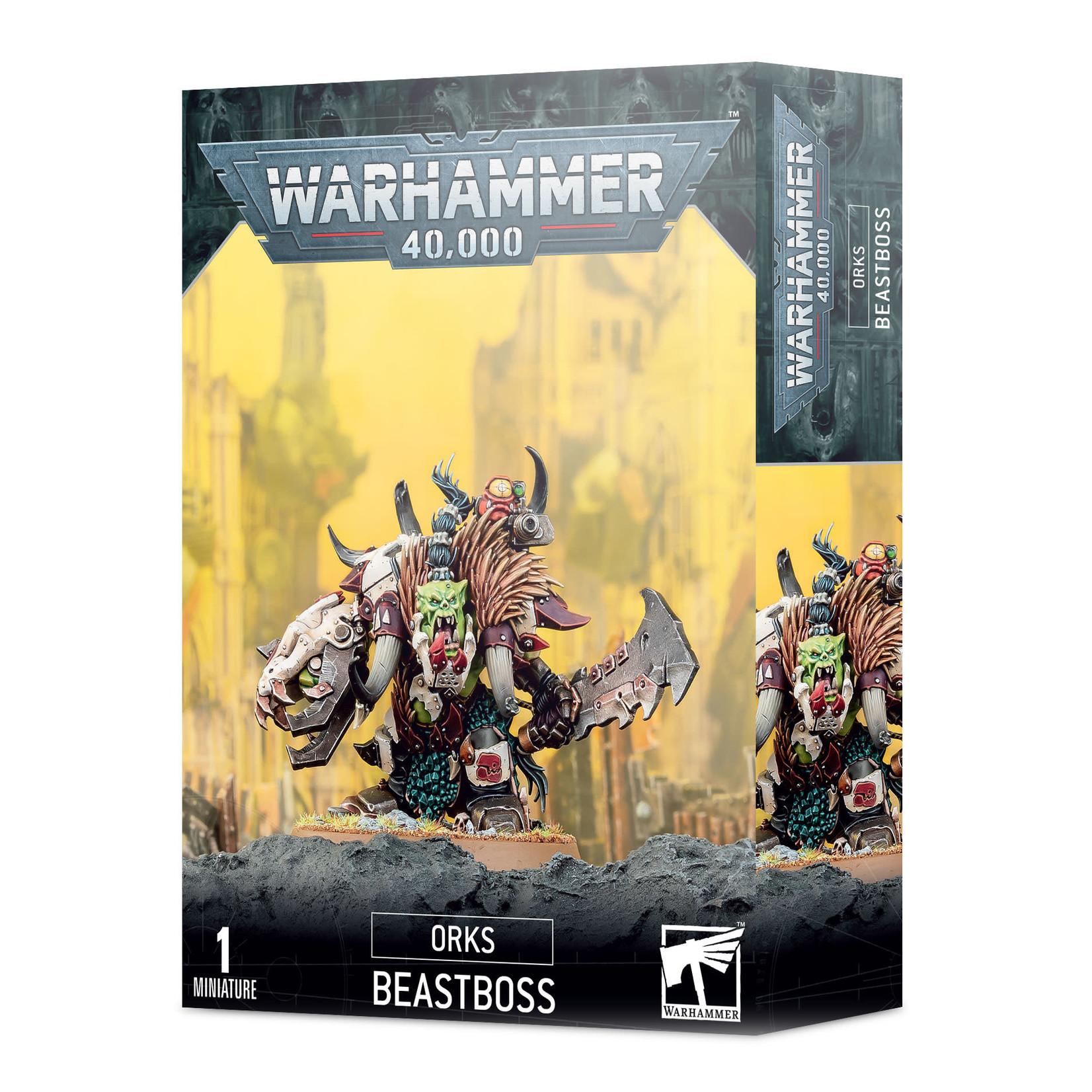 Orks Beastboss (40K)