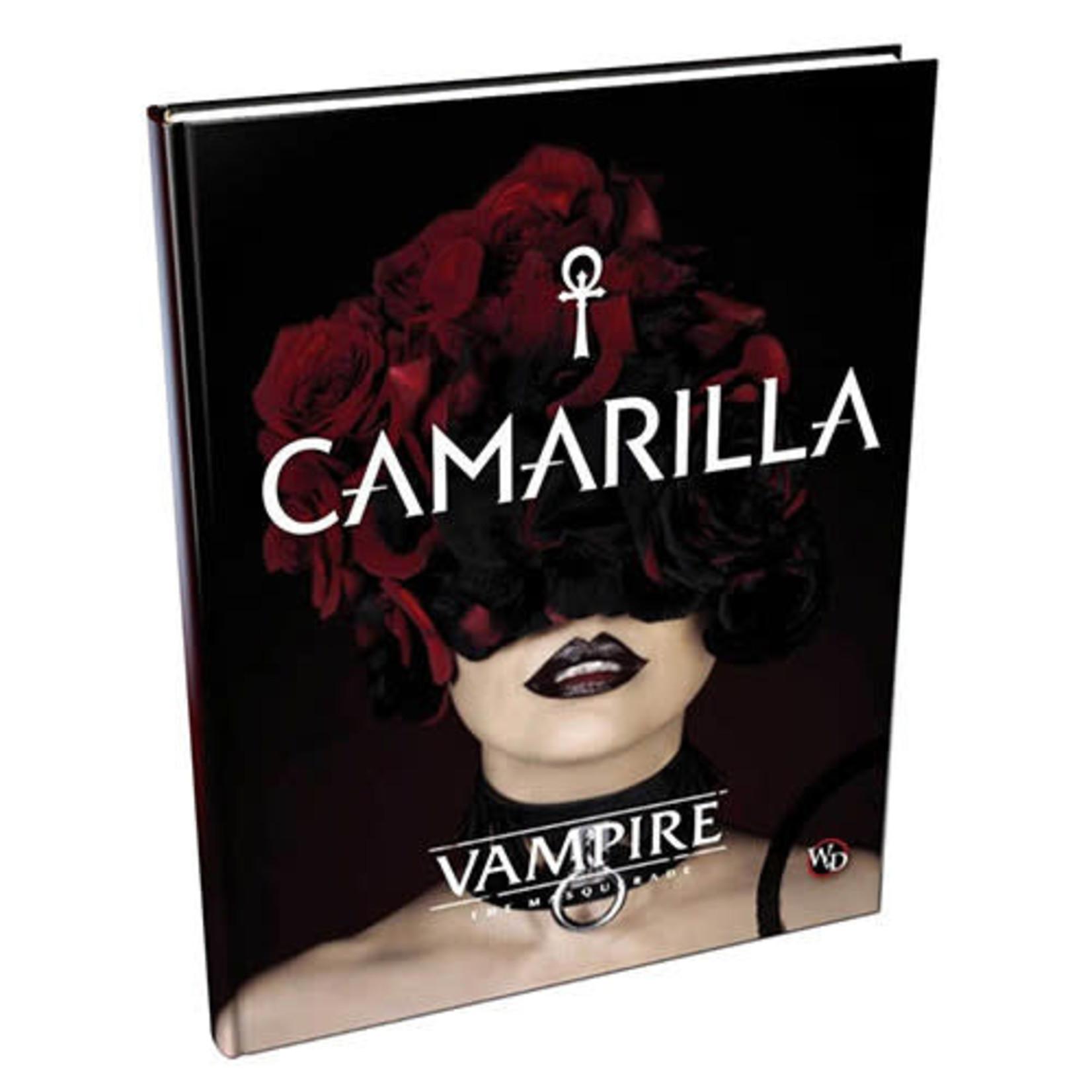 Vampire the Masquerade Camarilla sorcebook