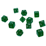 Eclipse 11 Dice Set Forest Green