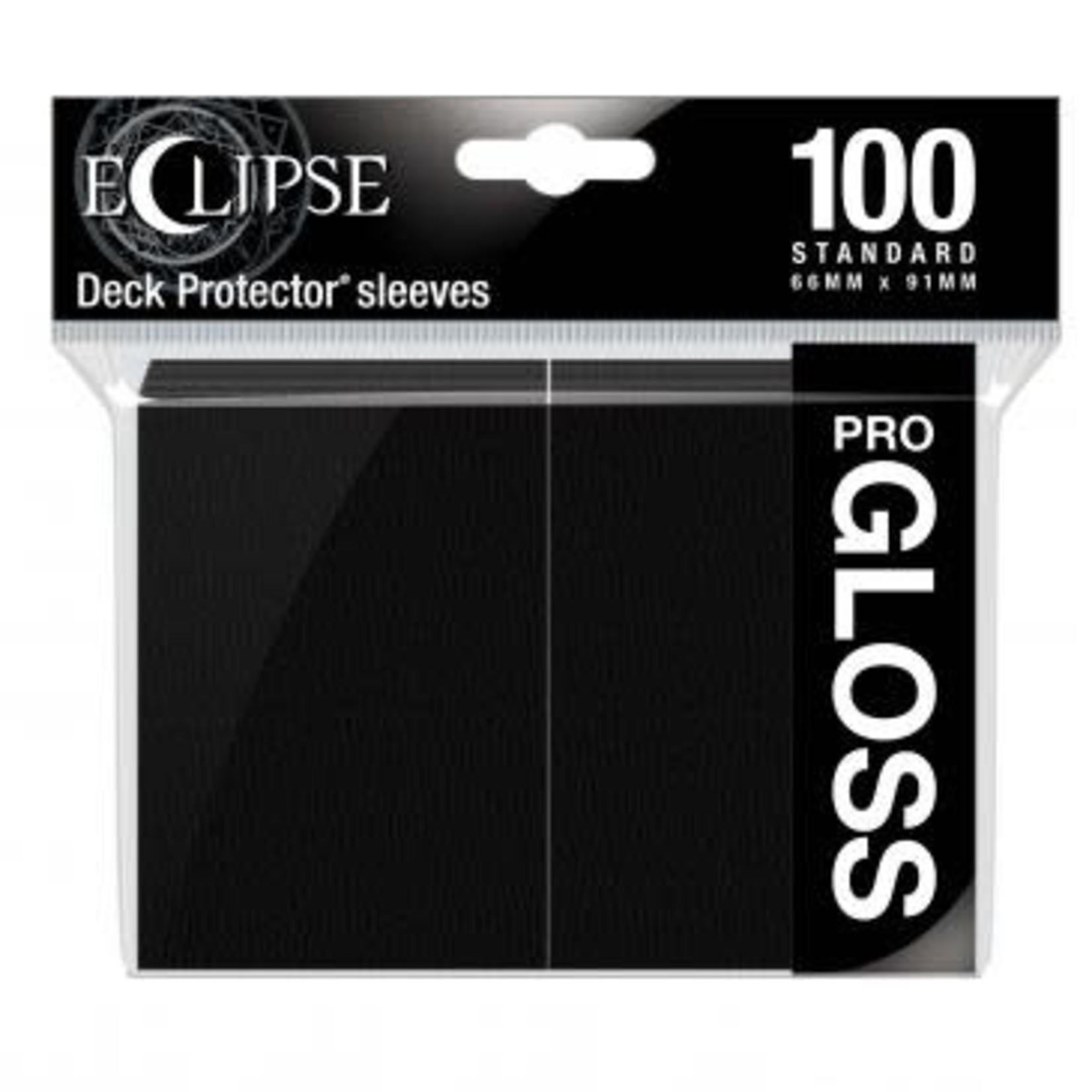 Ultra Pro Ultra Pro Eclipse Pro GLOSS  Black 100ct