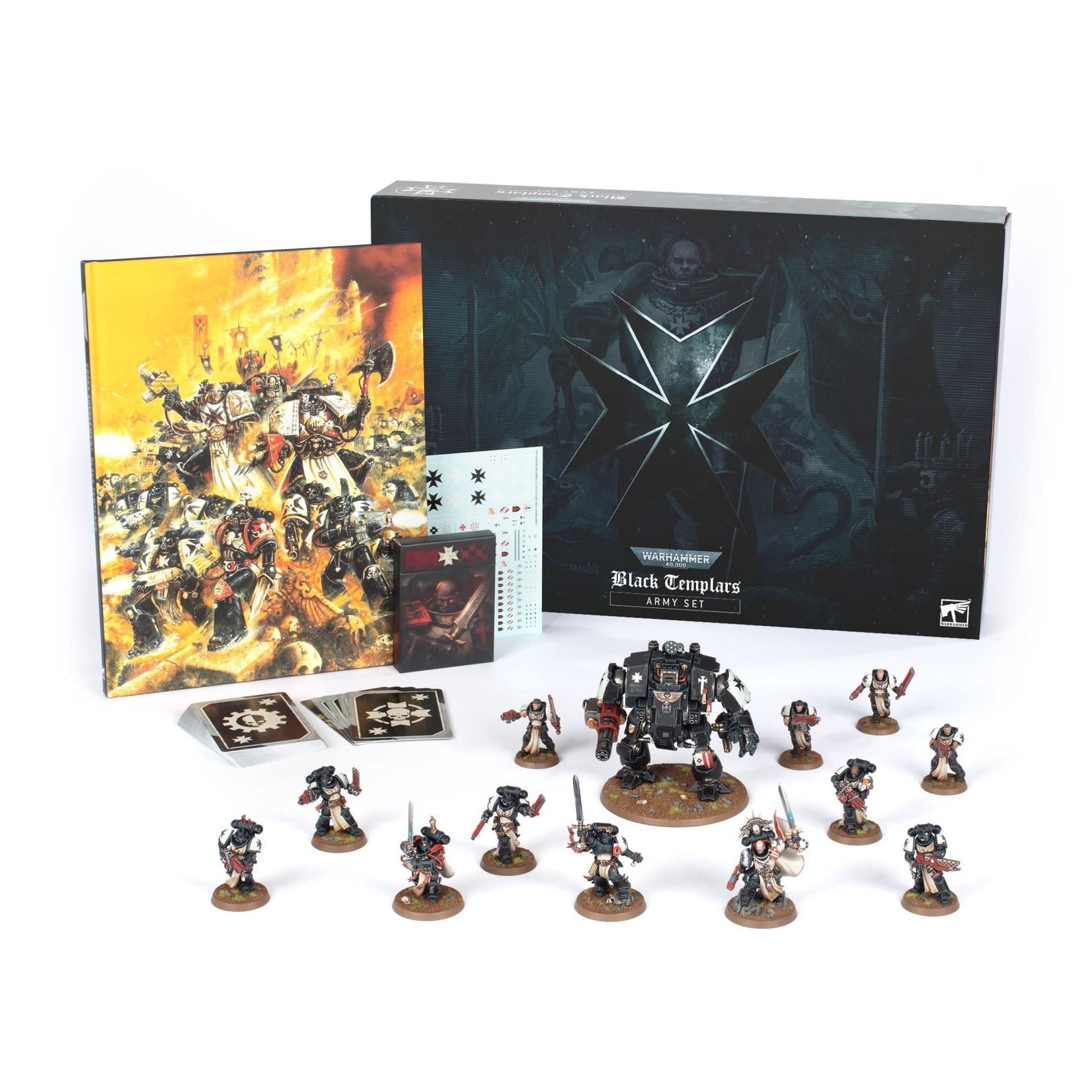 Games Workshop Black Templar Army Set (40K)