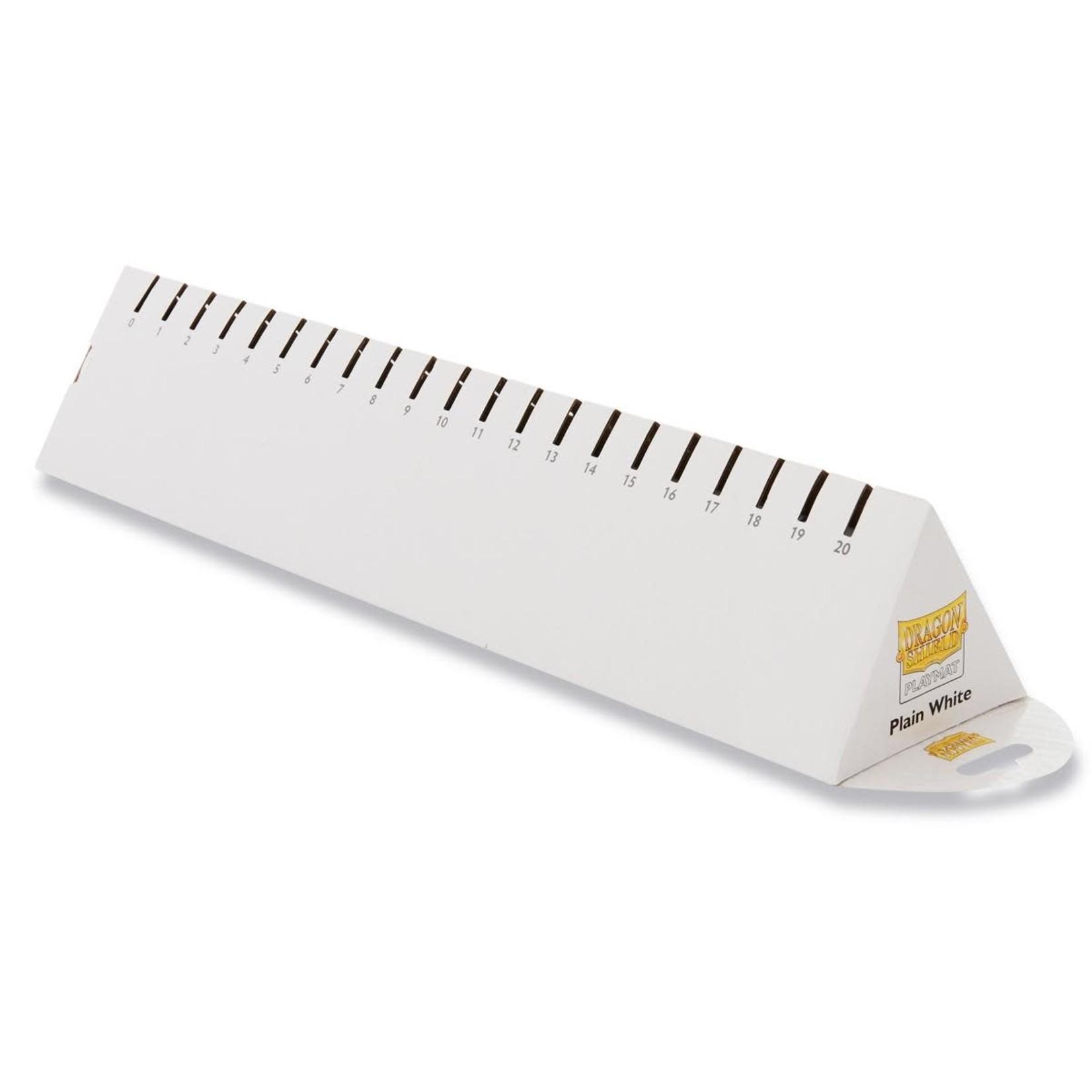Dragon Shield Playmat Plain White
