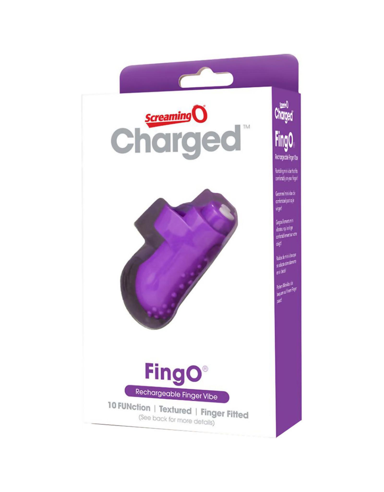 Screaming O Screaming O FingO Charged Vibe Purple