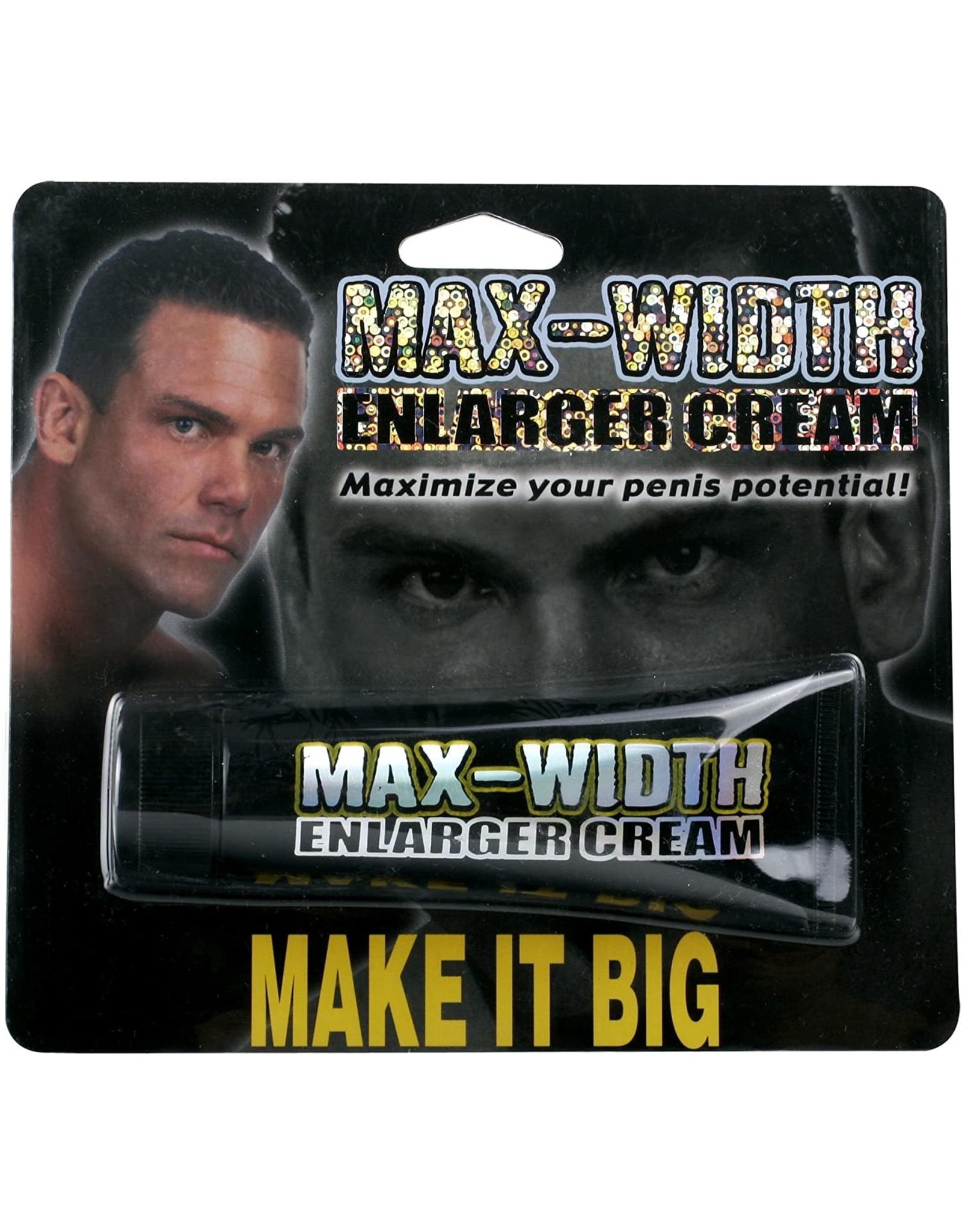 Max Width Enlarger Cream 1.5oz