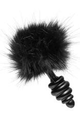 XR Brands Trinity Vibes Tailz Bunny Tail Anal Plug