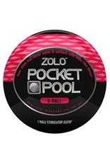 Zolo Pocket Pool 8-Ball Travel Masturbator