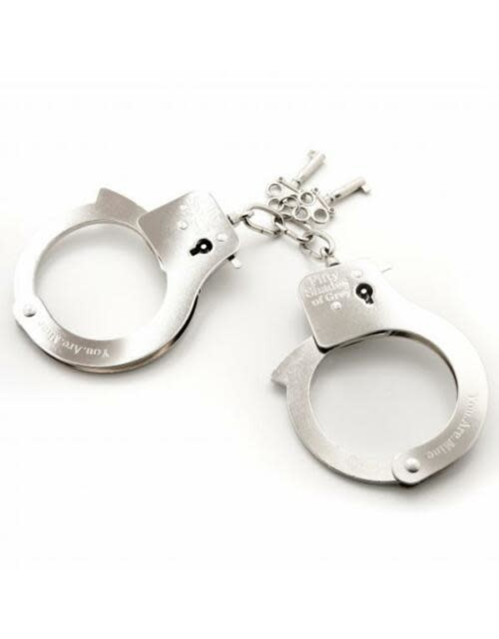 50 SHADES YOU ARE MINE CUFFS