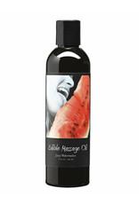 EARTHLY BODY Edible Massage Oil Watermelon 898788000943
