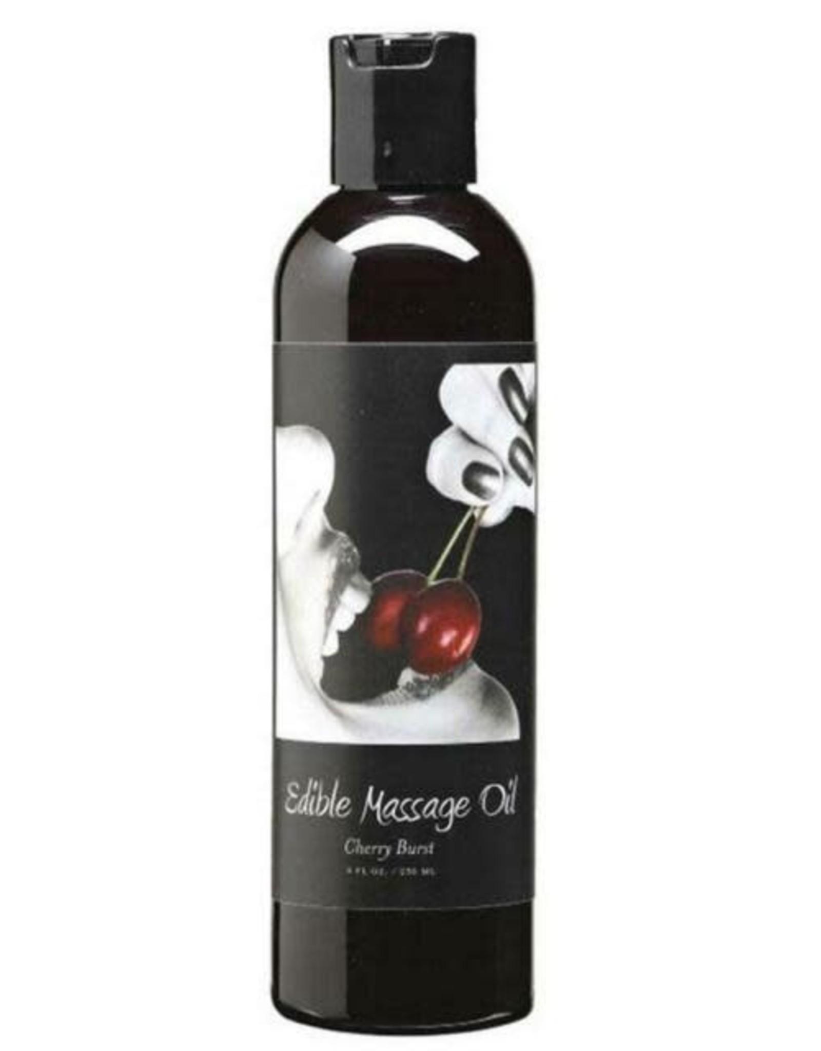 Edible Massage Oil Cherry 898788000912