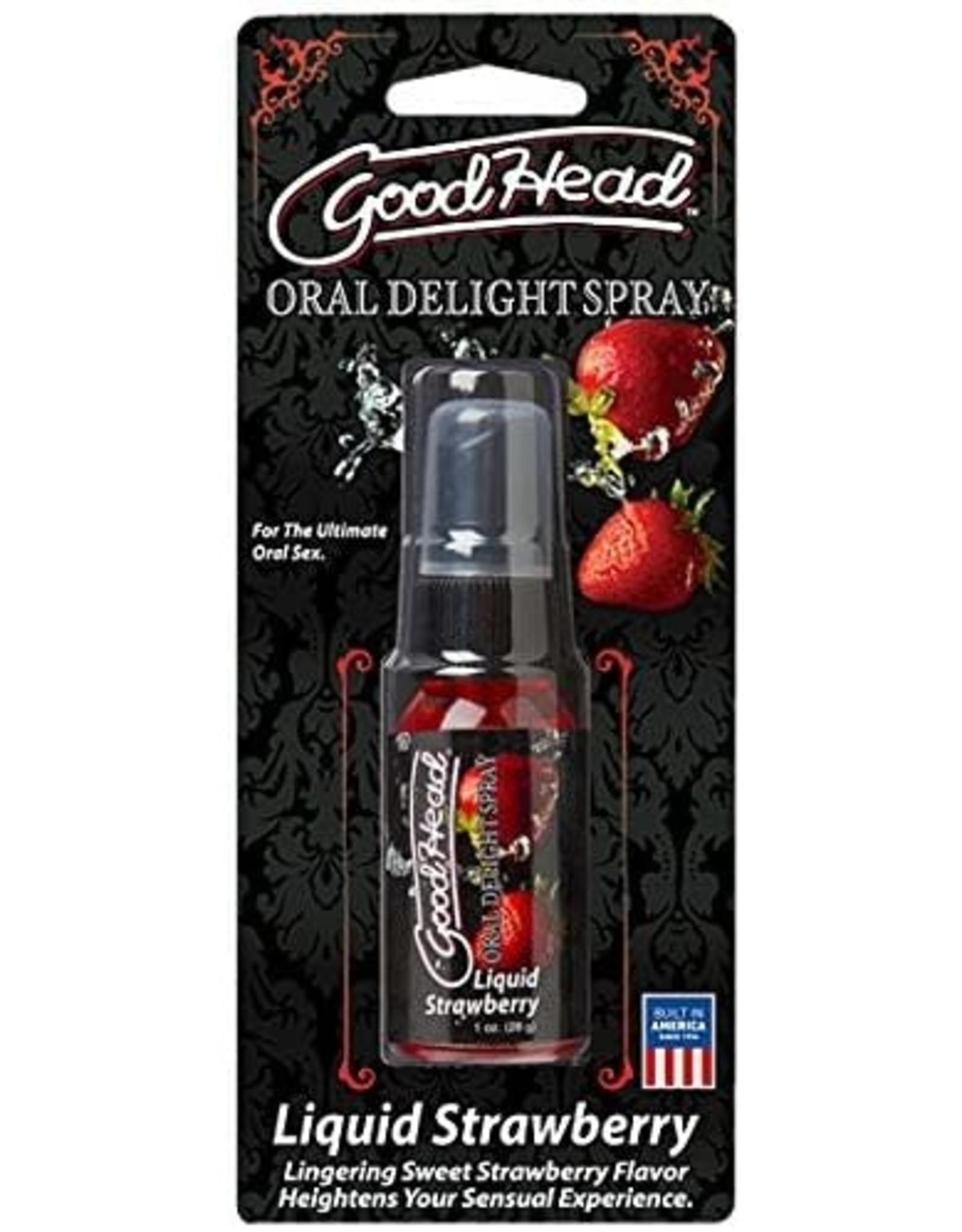 Doc Johnson Good Head Spray  Strawberry