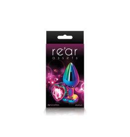 REAR ASSETS RAINBOW HEART PINK