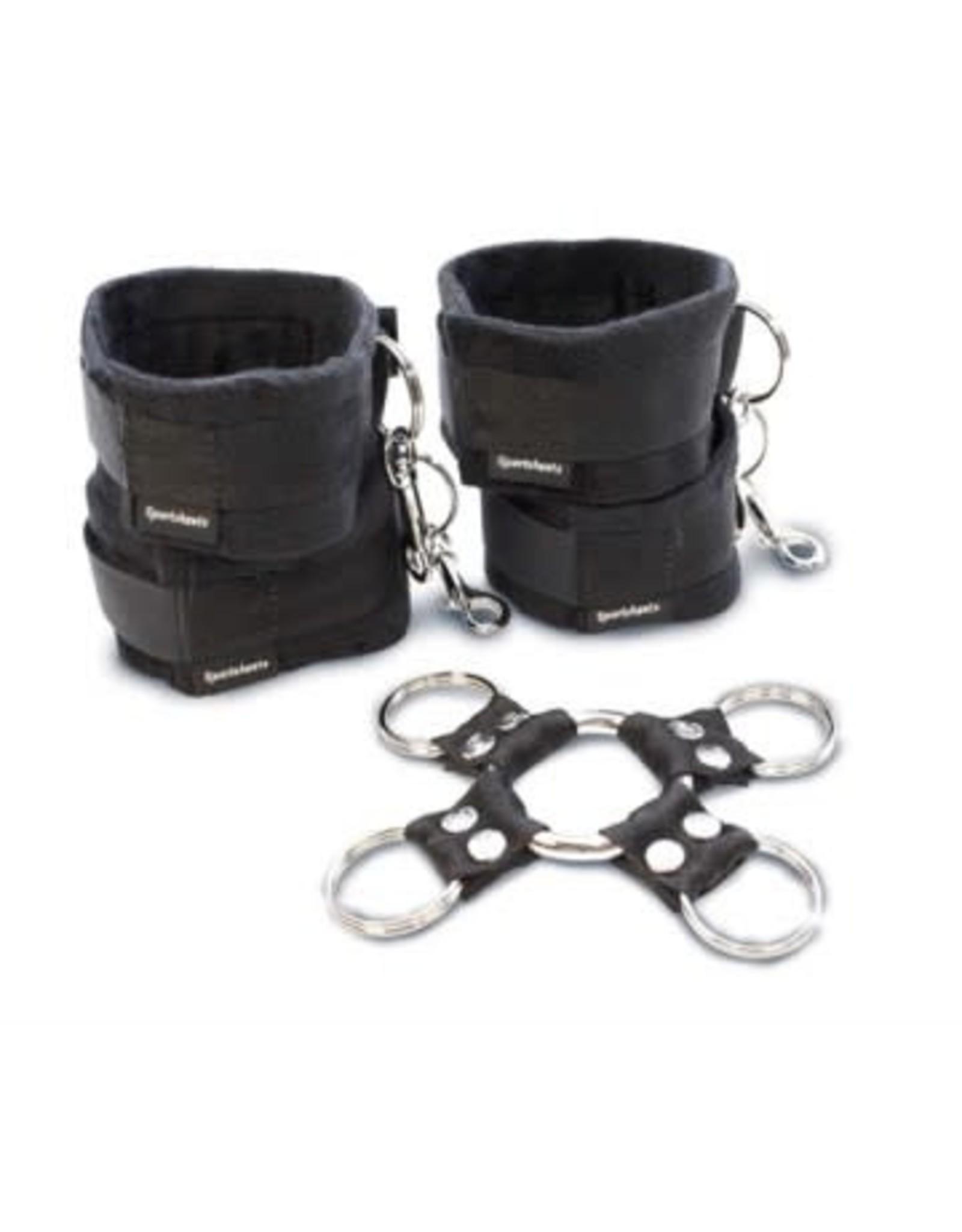 5 Piece Hog Tie & Cuff Set