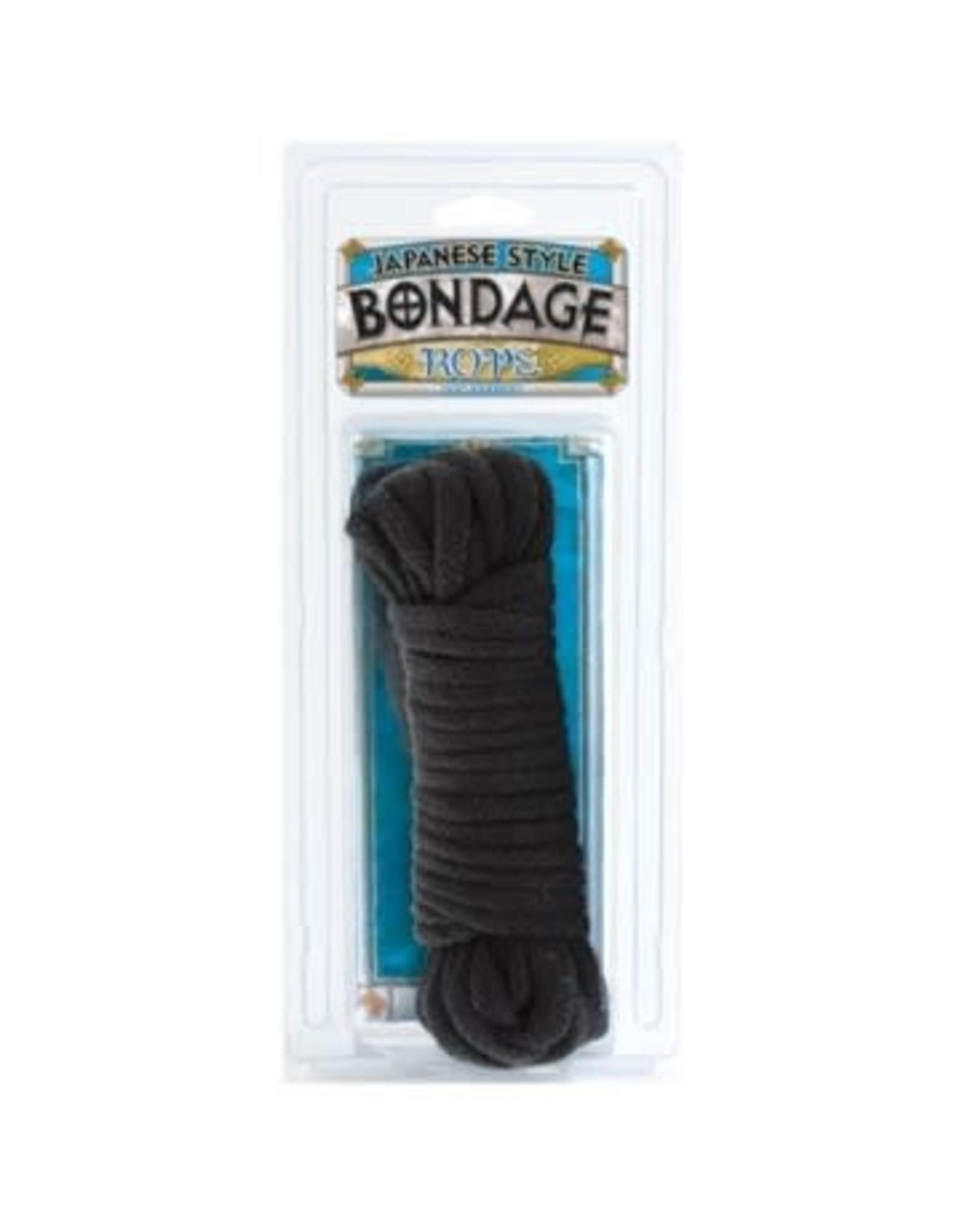 Japanese Style Bondage Rope Black