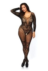 Leg Avenue 89190 QUEEN SIZE FULL BODY STOCKING