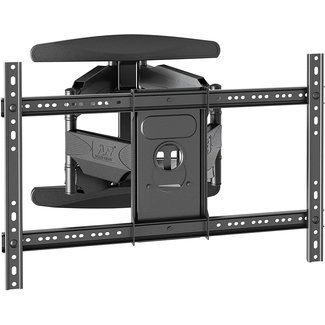"North Bayou Full Motion Cantilever TV Wall Mount with Built-in Cable Management for LED, LCD & Plasma TVs Size 40"" to 75"" (P6)"